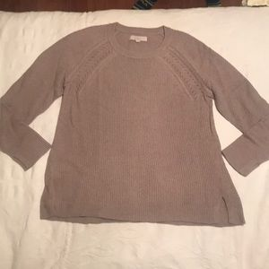NWOT Taupe Sweater